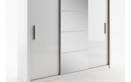 Šatní skříň IDEA WHITE 01