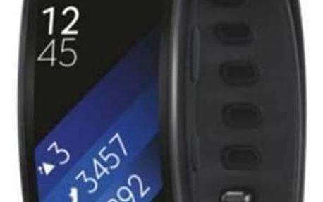 Fitness náramek Samsung Gear Fit2 vel. L (SM-R3600DAAXEZ) šedý + Doprava zdarma