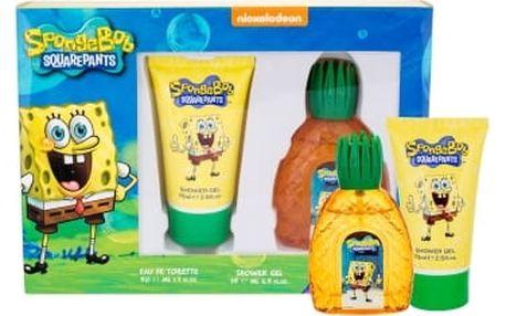 SpongeBob Squarepants SpongeBob dárková kazeta pro děti toaletní voda 50 ml + sprchový gel 75 ml