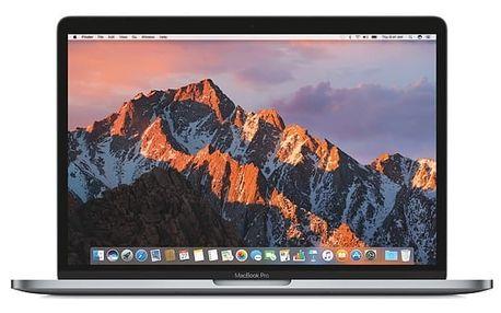 "Notebook Apple 13"" 128 GB - Space Gray (MPXQ2CZ/A) + DOPRAVA ZDARMA"