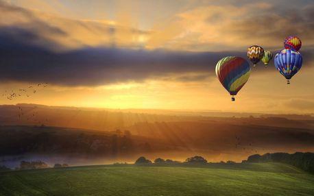 Vyhlídkový let balonem