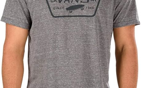 Tričko Vans Triblend Full Patch heather grey XL