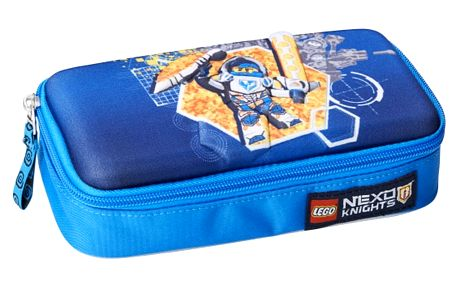 Modrý penál LEGO® NEXO Knights - doprava zdarma!