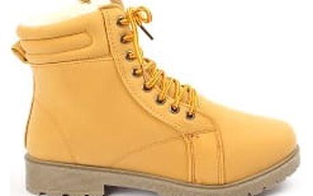Zateplené dámské kotníkové boty CAMEL NEW
