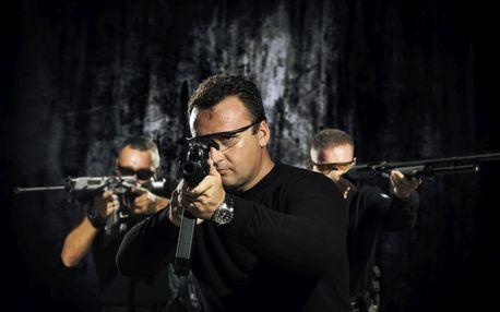 Střelba z armádních zbraní pro fandy