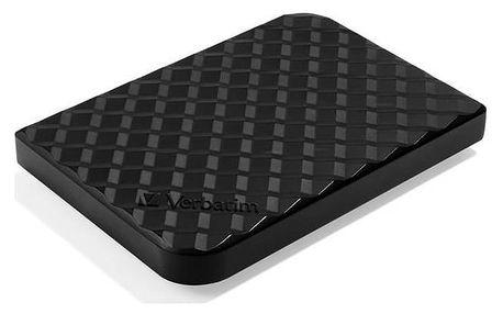 """Externí pevný disk 2,5"""" Verbatim Store 'n' Go GEN2 1TB (53194) černý + Pouzdro na HDD Verbatim Store 'n' Go 2,5"""" - černé v hodnotě 143 Kč + Doprava zdarma"""