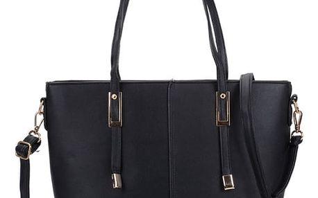 Dámská černá kabelka Collen 5228