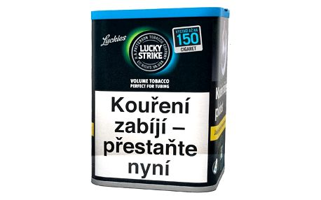 Tabák cigaretový Lucky Strike Black DC MYO 74g SO