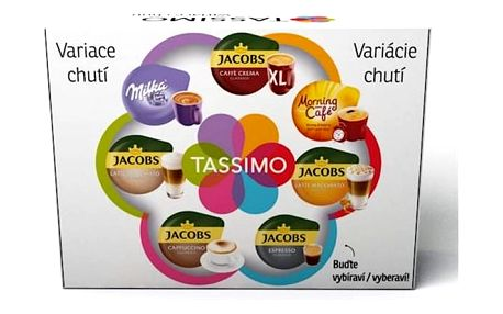 Kapsle pro espressa Tassimo Variační box