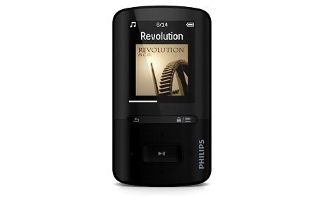 MP4 přehrávač Philips ViBE SA4VBE04KF černý