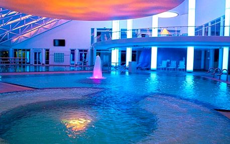 3–7denní wellness pobyt pro 2 v luxusním Kurhotelu Pyramide Sibyllenbad**** v Německu