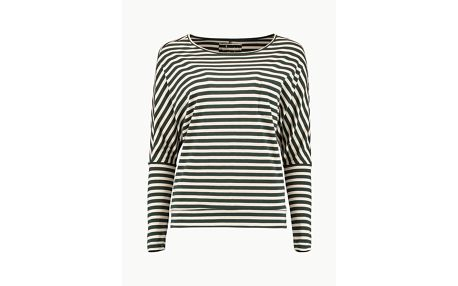 Tričko O´Neill LW Essentials Striped Top Barevná