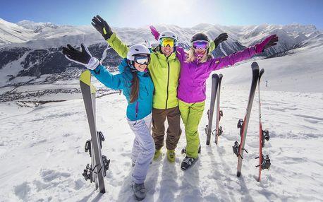 Pobyt pro 2 osoby s polopenzí a možností lyžování