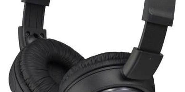 Sluchátka Sony MDRZX110B.AE (MDRZX110B.AE) černá + Doprava zdarma