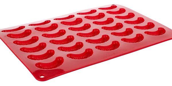 Banquet Forma na rohlíčky silikonová Culinaria Red,