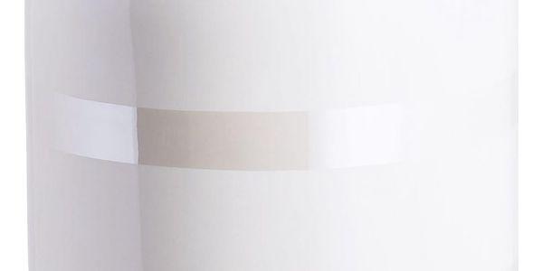 KÄHLER Keramická váza Omaggio Pearl 31 cm, krémová barva, keramika