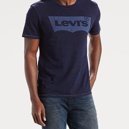 Tričko LEVI'S Housemark Graphic Tee Hm Laser Indigo G Modrá