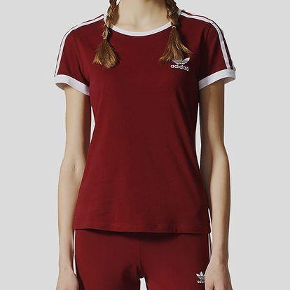 Tričko adidas Originals SANDRA 1977 TEE Červená