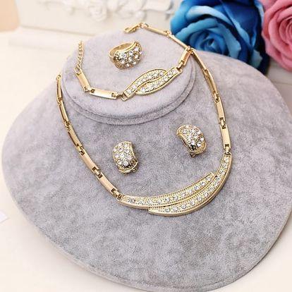 Čtyřdílná sada šperků