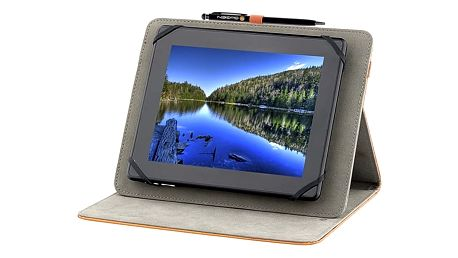 """Pouzdro na tablet polohovací GoGEN pro 9,7"""" + stylus (GOGTA9STANDSTO) oranžové"""