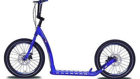 Koloběžka Olpran A11 modrá + Reflexní sada 2 SportTeam (pásek, přívěsek, samolepky) - zelené v hodnotě 58 Kč + Doprava zdarma