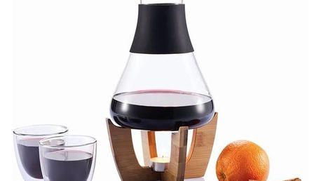 Set na svařené víno se sklenkami XD Design