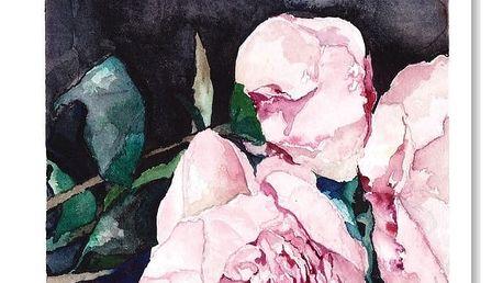 Plakát Blooms on Black I,30x42cm
