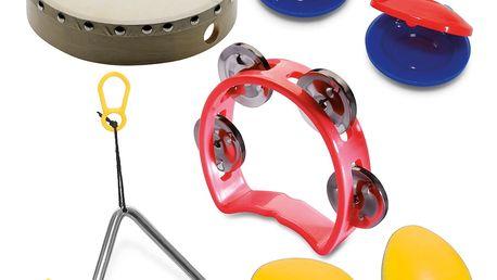 Dětské perkusní sady a sady hudebních nástrojů
