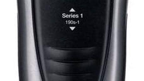 Holicí strojek Braun Series 1 190s-1 černý/šedý + Doprava zdarma