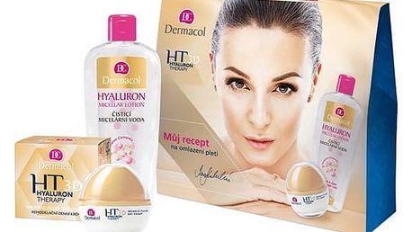 Dárkový balíček Dermacol 3D Hyaluron Therapy (remodelační denní krém 50 ml + čisticí micelární voda 400 ml)