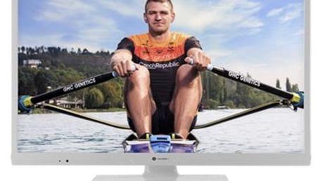 Televize GoGEN TVH 24N540 bílá + DOPRAVA ZDARMA