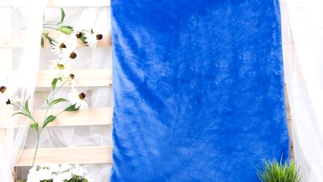 XPOSE ® Deka mikrovlákno - tmavě modrá 150x200 cm