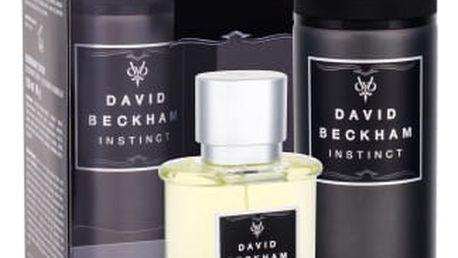 David Beckham Instinct dárková kazeta pro muže toaletní voda 50 ml + deodorant 150 ml