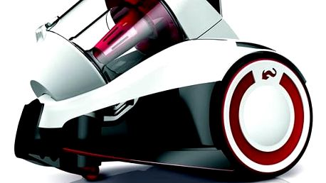 Vysavač podlahový Dirt Devil Rebel 24HE bílý Turbohubice Dirt Devil M219 MINI (zdarma) + Doprava zdarma
