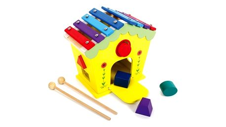 Dřevěný hrací domeček Legler Dodoo