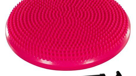 MOVIT 31956 Balanční polštář na sezení 33 cm - růžový