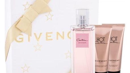 Givenchy Hot Couture dárková kazeta pro ženy toaletní voda 100 ml + sprchový gel 75 ml + tělové mléko 75 ml