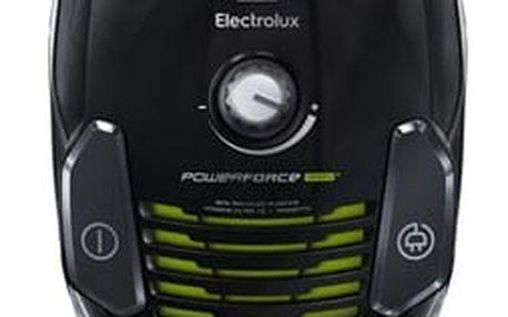 Vysavač podlahový Electrolux PowerForce ZPFGREEN černý/zelený + DOPRAVA ZDARMA