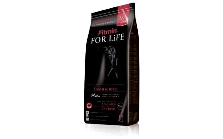 Granule FITMIN dog For Life Lamb & Rice 15 kg + Doprava zdarma