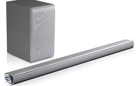 Soundbar LG SJ5 stříbrný + DOPRAVA ZDARMA
