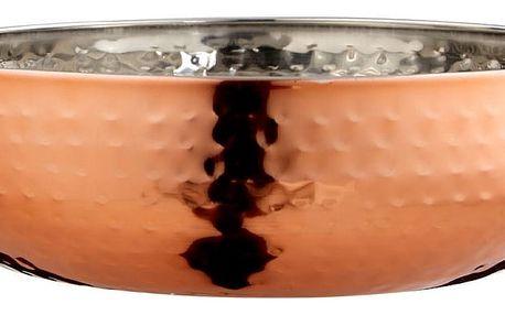 Okrasná mísa v barvě růžového zlata Premier Housewares Hammered, ⌀21cm