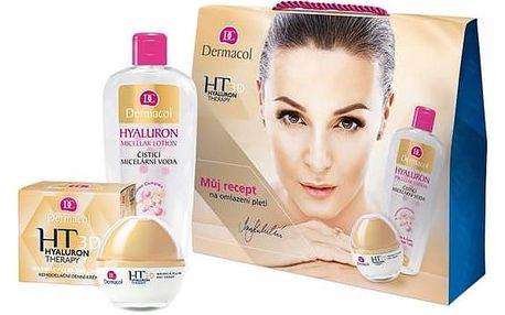 Dermacol 3D Hyaluron Therapy (remodelační denní krém 50 ml + čisticí micelární voda 400 ml)