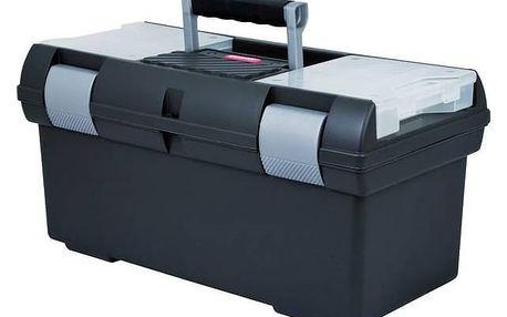 Kufr na nářadí Curver Premium 02934-976 L stříbrný/šedý