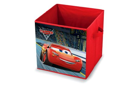 Červený úložný box Domopak Living Cars