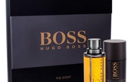 HUGO BOSS Boss The Scent dárková kazeta pro muže toaletní voda 50 ml + deostick 75 ml