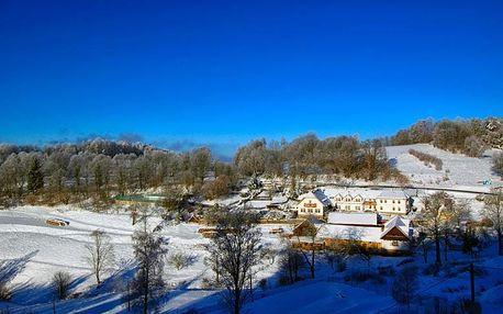 Zima, jaro nebo Velikonoce pro rodinu na Šumavě
