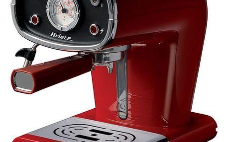 Espresso Ariete ART 1388/30 červené + DOPRAVA ZDARMA