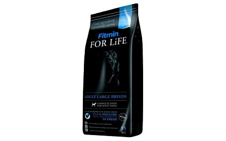 Granule FITMIN dog For Life Adult Large Breed 15 kg + Doprava zdarma