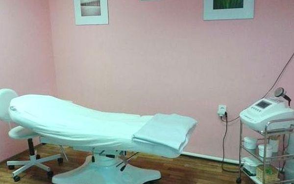 Kosmetické ošetření + přístrojová lymfodrenáž a zábal