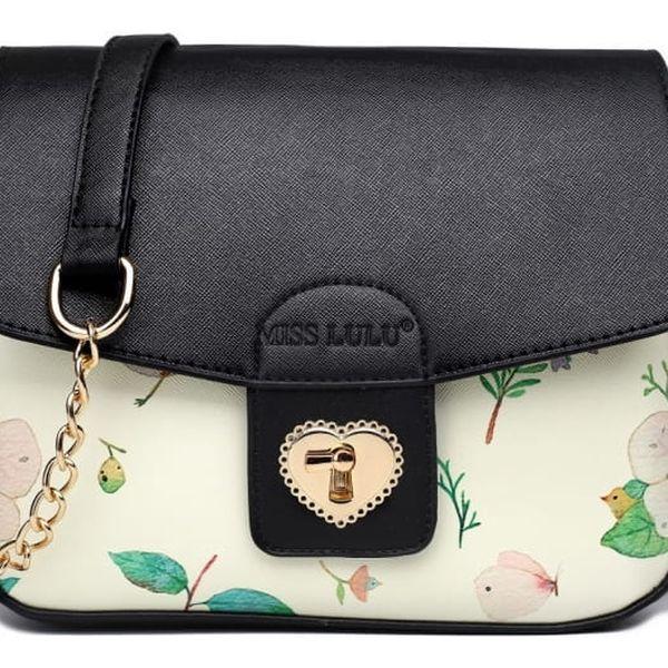 Dámská černá kabelka Goldie 1636